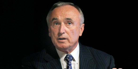 "William Bratton, chairman of Altergrity Risk International Inc. and former head of the New York and Los Angeles police departments, speaks at Wired magazine's ""Disruptive by Design"" business conference in New York, U.S., on Monday, June 14, 2010. Industry leaders discussed how they respond to change and use it to their advantage. Photographer: Peter Foley *** Local Caption ***"