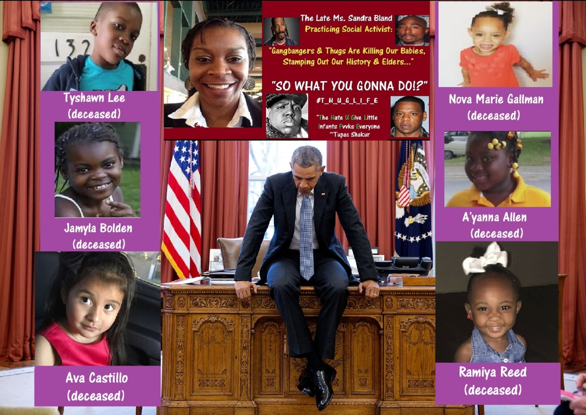 American Children Murdered on Mr. Barack